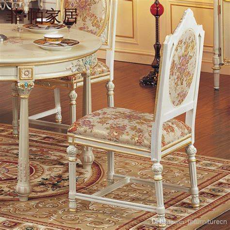 2018 italian style dining room furniture carving leaf