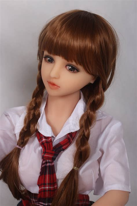 Small Mini Japanese Silicone Sex Doll Candy 138cm