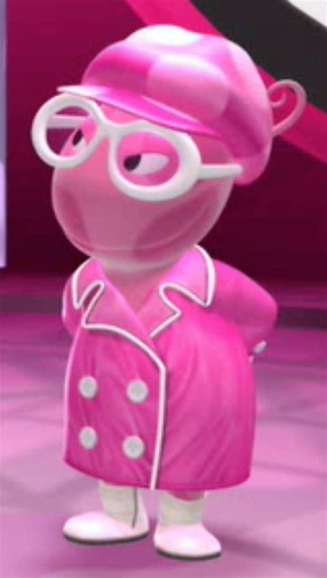 lady  pink character  backyardigans wiki