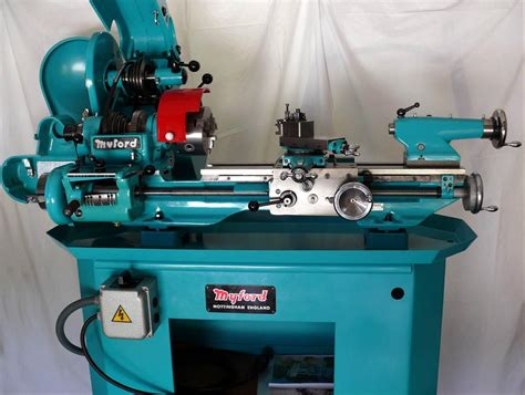 myford super  big bore lathe  machine tools