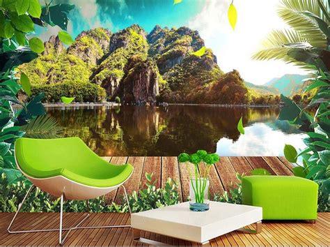 3d Scenery Wallpaper by Modern Beautiful 3d Wall Murals Wallpaper Hd Nature