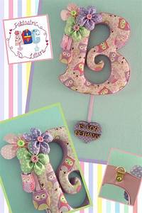 17 best images about fabric covered letters on pinterest With fabric covered letters for nursery