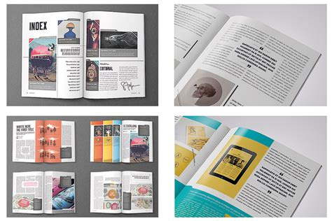 Indesign Templates For Books by Image Gallery Indesign Layouts