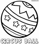 Ball Coloring Pages Colouring Crystal Template Epcot sketch template