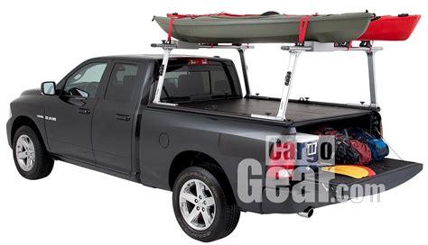 kayak racks for trucks tracrac g2 truck rack with kayak mounts