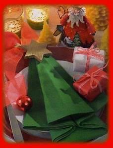 Pliage De Serviette Pour Noel : 17 best ideas about christmas napkin folding on pinterest ~ Melissatoandfro.com Idées de Décoration