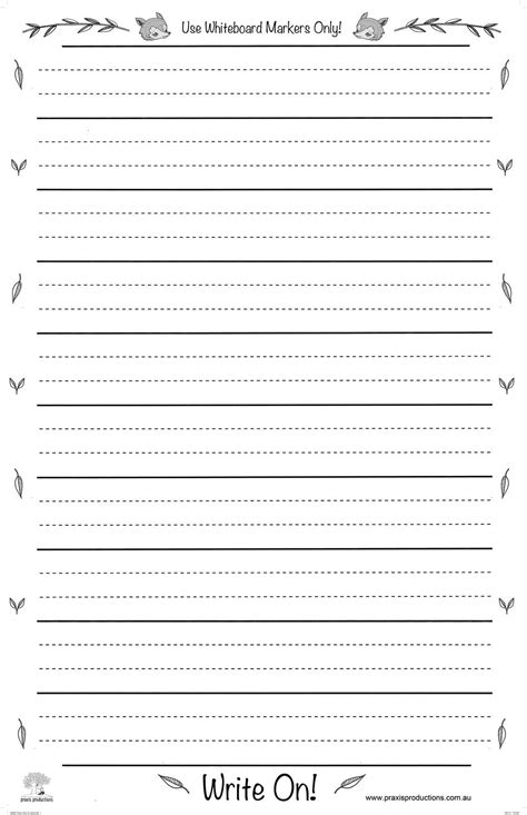 write  large laminated dotted thirds chart praxis