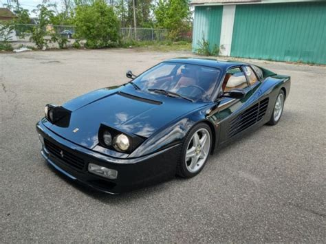 Type we are pleased to be offering this beautiful euro spec, black on tan, 1992 ferrari 512tr for sale! 1992 Ferrari 512 TR - Black on Tan — luxury vehicle For ...