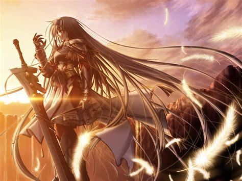Anime, Primitive Link, Sione, Anime Girls, Sword