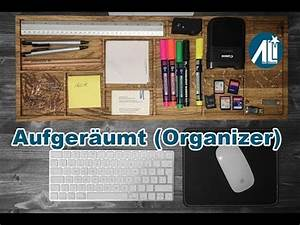 Schreibtisch Selbst Bauen : aufger umter schreibtisch organizer selber bauen youtube ~ A.2002-acura-tl-radio.info Haus und Dekorationen