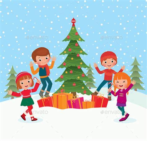children celebrate christmas christmas download best