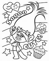 Poppy Coloring Pages Cute sketch template