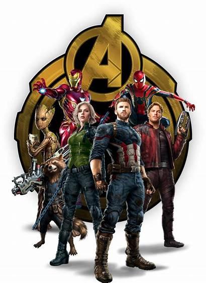 Infinity War Avengers Background Marvel Transparent Iron