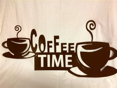 coffee signs for kitchen coffee decor sign kitchen sign cafe sign cnc plasma cut