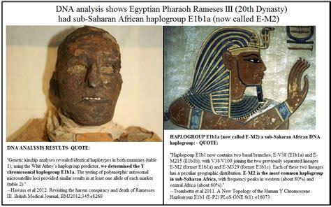 mummies of the pharaohs modern investigations news dna evidence on pharaohs ramses iii a sub saharan black black news daily