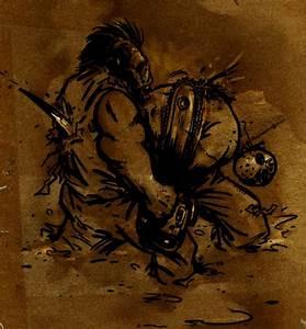Jason vs. Leatherface by shutendogi on DeviantArt