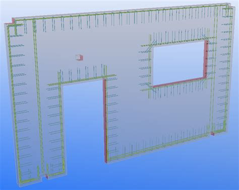 wall panel reinforcement tekla user assistance