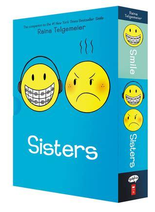 smile  sisters  box set  raina telgemeier reviews discussion bookclubs lists