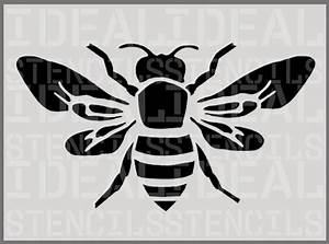 Bumble Bee STENCIL home DECOR painting stencil wall