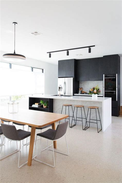 black track light  kitchen dining bestkitcheninterior