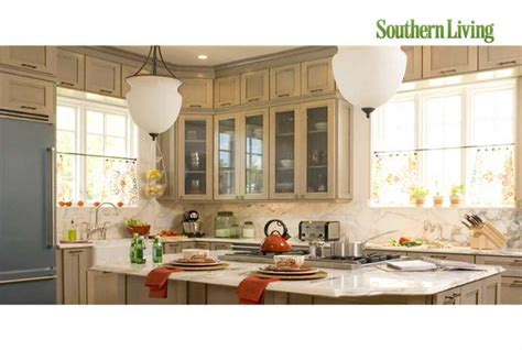 southern living kitchen designs style guide kitchen and dining room lighting southern 5621