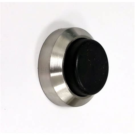 wall mounted door stops and small projection wall mounted door stop buffer satin
