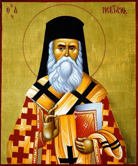 Mitr Ierotheos Vlachos  Sfântul Nectarie, Emigrantul