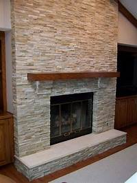 stone tile fireplace designs The Tile Shop: navajo stack fireplace   Fireplaces - A ...
