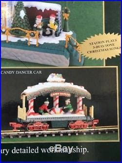 bright  holiday express animated train   scale