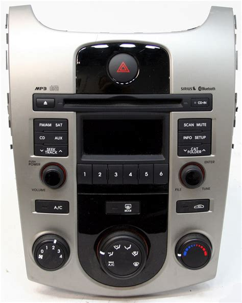 Kia Radio by 2010 2012 Kia Forte Factory Stereo Mp3 Sirius Ready