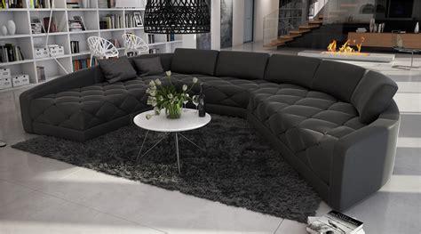 grand canape grand canapé d 39 angle moderne et original en u roi 2 699