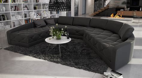 grand canapé d angle en u grand canapé d 39 angle moderne et original en u roi 2 699