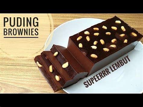 Resep puding tiramisu fitbar lezat bikin nagih. Resep puding brownies super lembut - YouTube | Puding, Resep, Resep kue