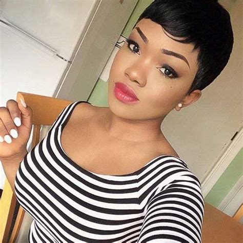 Pixie Cut Hairstyles For Black by 20 Pixie Cut For Black Hairstyles 2017
