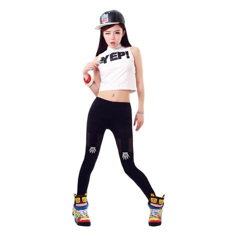 Hip Hop Costume Hiphop Nightclubs Sleeveless Tops DS Costume Jazz Dancewear for Women Dj Stage ...