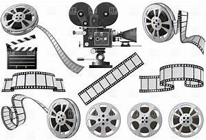 Movie camera vintage movie clipart - Clipartix