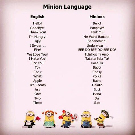minion banana language leisure pinterest language search  minion banana