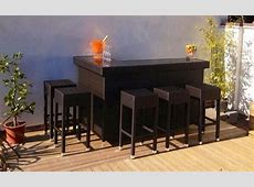 Rattan Bar Furniture – New for 2013 Alfresco Trends