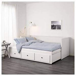 Ikea Metallbett Weiß : hemnes ikea bett wei 140 200 cm tagesbett web ~ Frokenaadalensverden.com Haus und Dekorationen