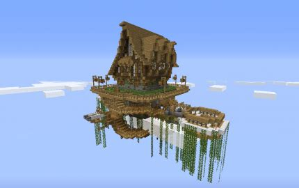 house   floating island creation