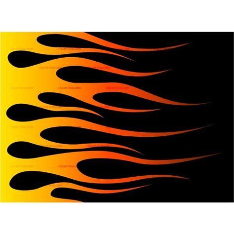 Hot rod flames stencil racing flame clip art vector ...