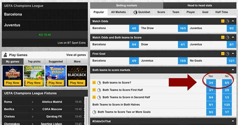 BTTS - Both Teams To Score Tips & Stats