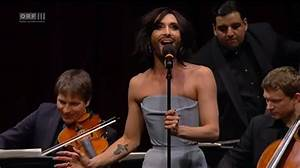 Conchita Wurst Sings 'Rise Like a Phoenix' at Pop Meets ...