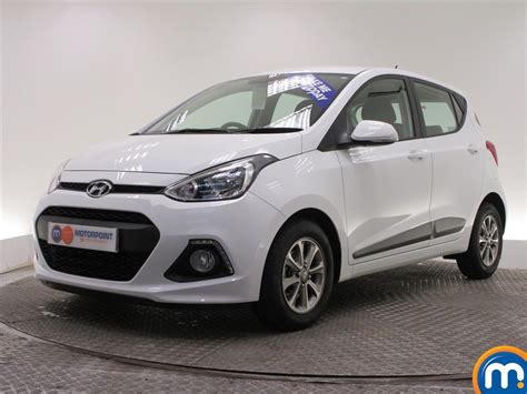 Used Or Nearly New Hyundai I10 1.0 Premium 5dr White For