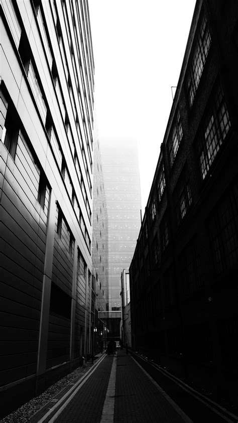 Free Images  Path, Black And White, Architecture, Fog