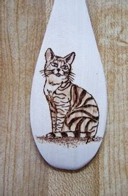 wooden spoons danette smiths pyrography  easels
