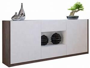 Buffet Vaisselier Pas Cher : buffet bas 2 portes 2 tiroirs otawa buffet conforama ventes pas ~ Melissatoandfro.com Idées de Décoration