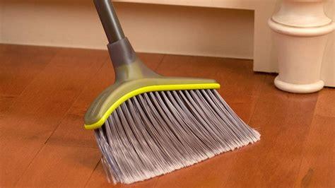 brooms  hardwood floors