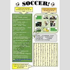 Soccer!  Vocabulary And Reading Comprehension Set ( 3