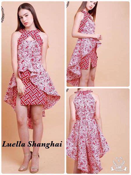 cute batik love  colour  pattern combination